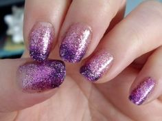 "ombre glitter nails via 'i'm bouquet with it"" by opi for sephora"