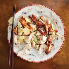 stir-fry with Chanterelles