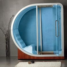 Shower of the future. I could spend days in there.
