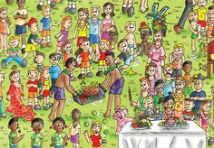 """Cade, """"They have good food in Hawaii, like fruits, meat and tropical drinks.""""  Order a seek and find book on www.findthecutes.com  #Cutekids #Cutechildren #Hawaiifruits #Hawaii #Lookandfindbook #Childrensbooks"""