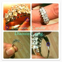 Well diamond candles do have great taste in rings!