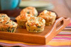 Sweet Potato, Kale & Feta Muffins