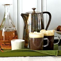 St. Patrick's Day is right around the corner. Start celebrating with Irish Coffee | CookingLight.com holiday, irish coffe, irish recipes, drink, coffee recipes, st patricks day, ideas party, irishcoffe, parti