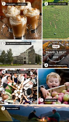 What's not to love about fall? Here are a few of our favorite to-dos #TravelsBest. travel type, favorit todo, fall todo