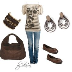 """""""So casual, so cute"""" by shauna-rogers on Polyvore"""