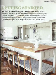 deVOL's Shaker Kitchen has an amazing full page feature in the September 2014 issue of Beautiful Kitchens mag.