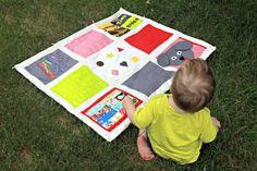 Toddler Activity Mat DIY