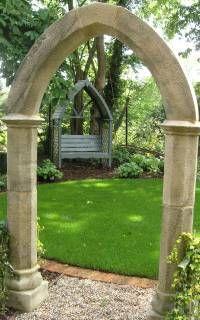 Stone Garden Arch