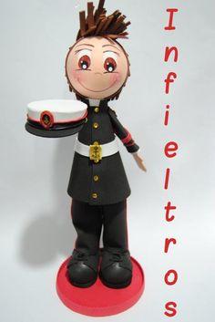 Fofucho infante de marina #soldado