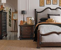European Farmhouse Bedroom from PoshLiving.Com