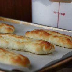 Olive Garden Style Gluten Free Bread Sticks Recipe. Use DF butter.