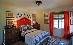 bedding, moroccan theme, moroccan bedroom, bedroom decor, red, colors, bedrooms, blues, bedroom designs