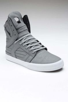 Supra Shoes have these with neon green