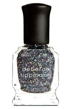 Current manicure is Deborah Lippmann's Dancing in the Dark