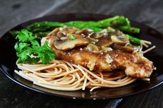 Chicken Marsala.  I love Carraba's, but have got to try this at home!