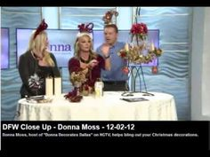 Donna Moss featured on television - December 2012