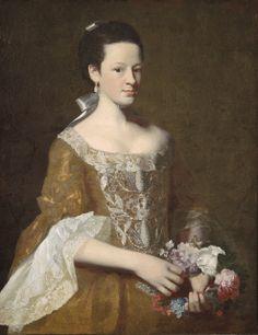 """Dorothy Murray"" by John Singleton Copley (1759-1761)"