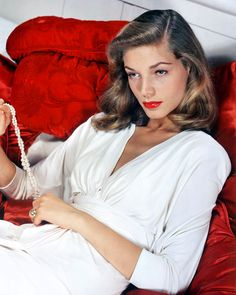 Lauren Bacall dead at 89. Just watched Dark Passage today.