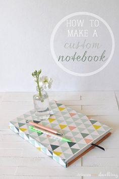 How to make a custom notebook, DIY