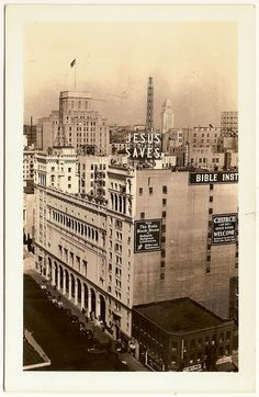 Bible Institute of Los Angeles circa 1940 Postcard