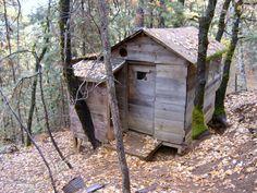 Seraphim Rose's hermit cell. Platina, California.