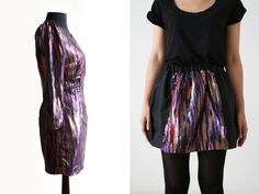 Upcycling! The Party Dress, before and after...