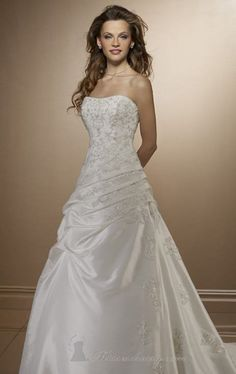 Zaza 39 s wedding dresses on pinterest jasmine bridal for Mori lee taffeta wedding dress