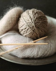 mohair and wool