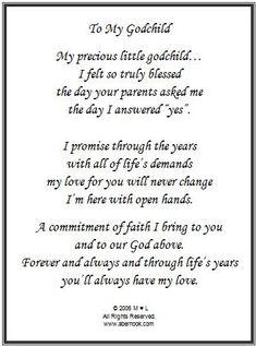 Godchild poem