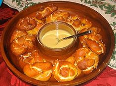 The Cottage Home: Homemade Soft Pretzels with Honey Mustard Sauce