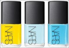 New NARS nail polish collection! sooo cute(: