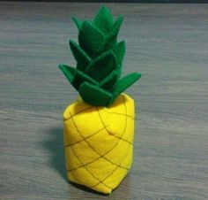 Felt Tropical Fruits - Pineapple Kiwifruit Lemon Lime Mangosteen Starfruit (Patterns and Instructions via Email)