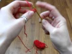 Crocheted Cord - Video Tutorial ❥ 4U // hf