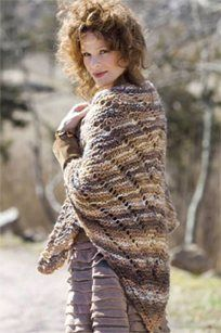 Flying Geese Shawl, As Seen on Knitting Daily TV Episode 509 - Free #Knitting Pattern