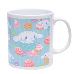 Special Cinnamoroll mug made for 2014 Sanrio Character Ranking Campaign ^^ hello kitti, sanrio time, sanrio charact, sanrio cinnamorol