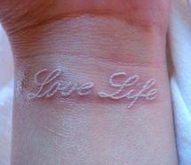white tattoos