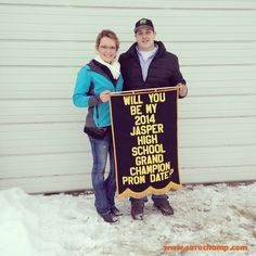 Livestock Prom Proposal via www.surechamp.com