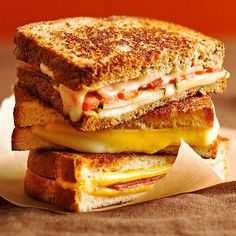 Grilled Cheese Sandwiches from BHG.com