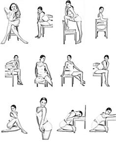poses for Boudoir shoot I am going to do. Great Idea!!