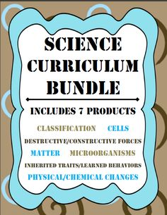 Science Curriculum Bundle: A Year's worth of lessons (5th Grade Georgia).