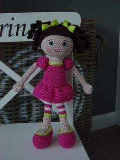 Pop crochet store, gehaakt poppen, doll amigurumi, crochet amigurimi, amigurumi muñeca