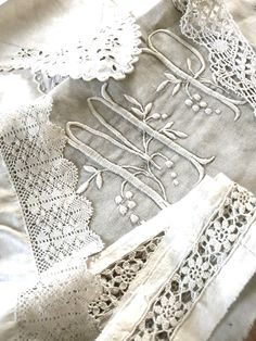 Antique linen...