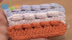Crochet The Puff Stitch Around Posts Tutorial 39 Around Decrease Stitch  https://www.youtube.com/watch?v=16k9mIeGI58 In this free video tutorial you will see how to crochet the puff stitch around the 2 double crochet posts, 3 double crochet posts and around posts of a 3-double crochet decrease stitch. Easy and fast to work. You can make the puff stitch around even more and taller posts. Thanks for watching!
