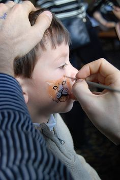 Maybe some face painting for the kids!