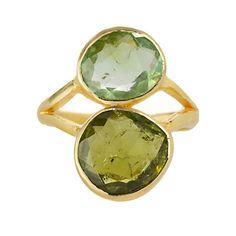 fashion, stone ring, style, gold rings, greenlush green, stones, green tourmalin, green goddess, stack stone