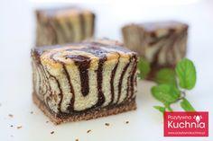 Ciasto zebra - przepis | PozytywnaKuchnia.pl - przepisy kulinarne i filmy