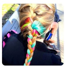 Awsome. Doing this to my hair sometime