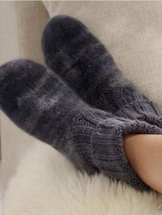 slippers with knit tops