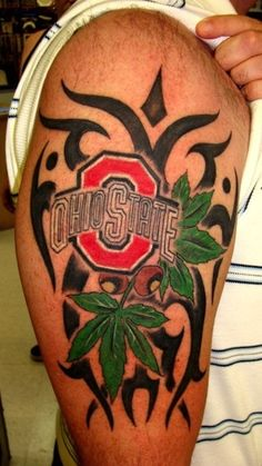 the 15 worst ohio state buckeyes tattoos on the internet. Black Bedroom Furniture Sets. Home Design Ideas