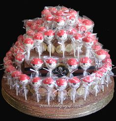 cake pop cake. you can use whatever cake pops you want.